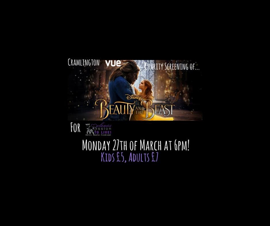 Beauty & the Beast charitable Screening